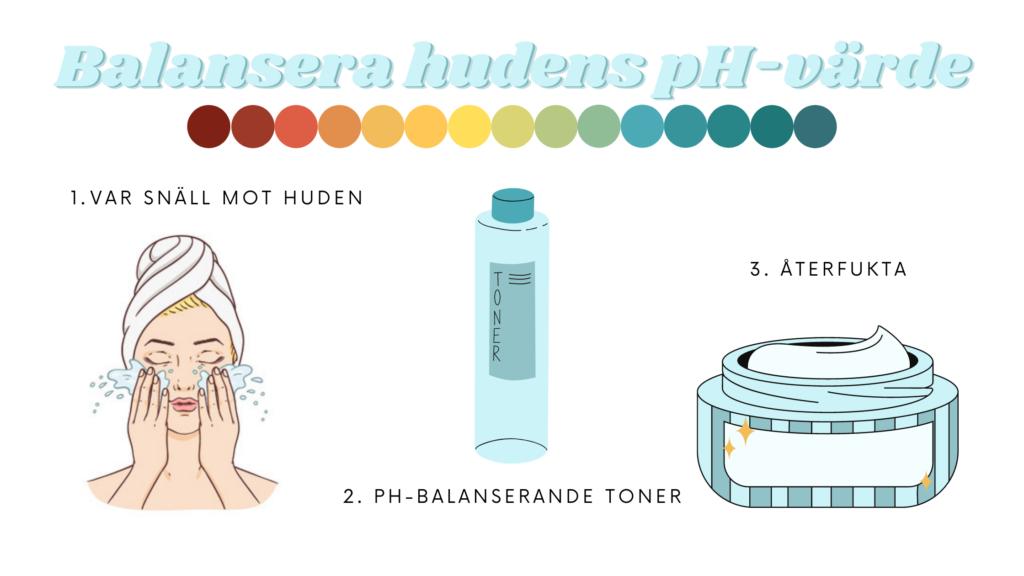 Såhär balanserar du din huds ph-värde